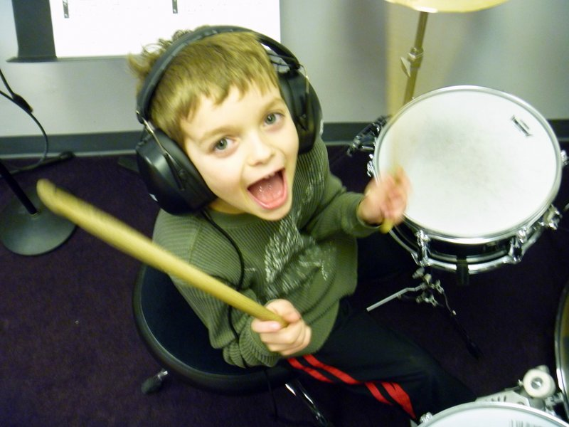 Drum lessons for all ages